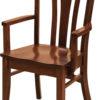 Amish Meridan Dining Arm Chair