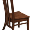 Amish Meridan Side Chair Detail