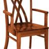 Amish Oleta Arm Dining Chair