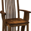 Amish Royal Mission Dining Arm Chair
