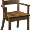Amish Savannah Dining Arm Chair