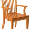 Amish Shelby Arm Dining Chair