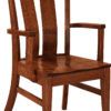 Amish Sherwood Dining Arm Chair