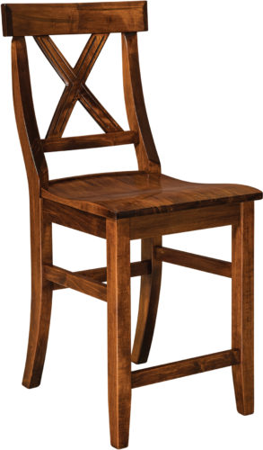 Amish Vornado Bar Stool