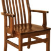 Amish Wabash Dining Arm Chair