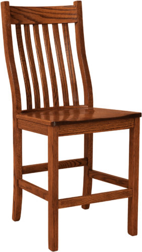 Amish Wabash Bar Stool