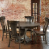 Amish Westin Dining Chair Set