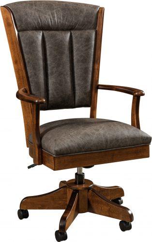 Amish Zynda Executive Desk Chair