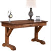 Amish Shakespeare Hand-Planed Writer's Desk