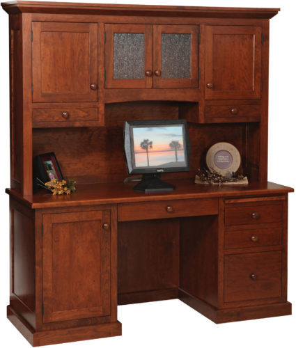 Amish Homestead Credenza with Hutch