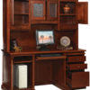 Amish Open Homestead Credenza and 66 Inch Hutch