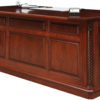 Amish Lexington Executive Desk Back