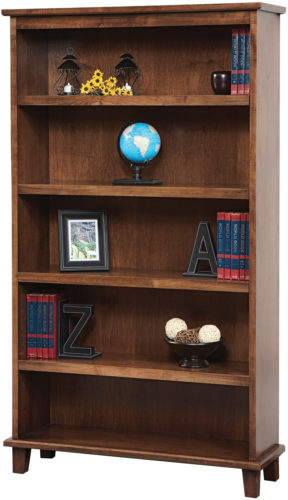 Amish Manhattan Wood Bookcase
