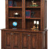 Amish Lincoln Double Unit with Hutch