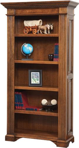 Amish Lincoln 42 Inch Bookcase