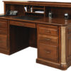 Amish Jefferson Executive Desk with Privacy Cubby