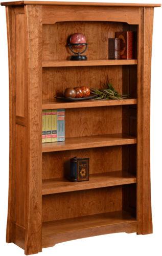 Amish Jamestown Hardwood Bookcase