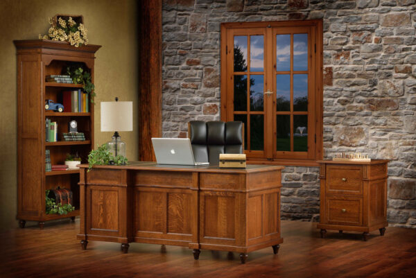 Amish Bridgeport Office Set