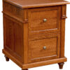 Amish Bridgeport File Cabinet