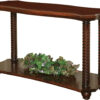 Amish Lexington Open Sofa Table