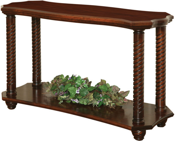 Amish Lexington Open Sofa Table