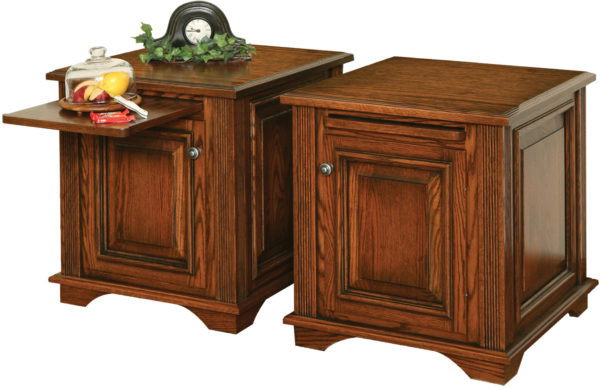 Amish Lincoln Deluxe End Table