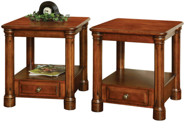Amish Jefferson Deluxe End Table