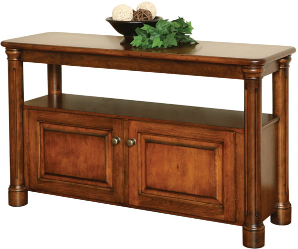 Amish Jefferson Open Sofa Table