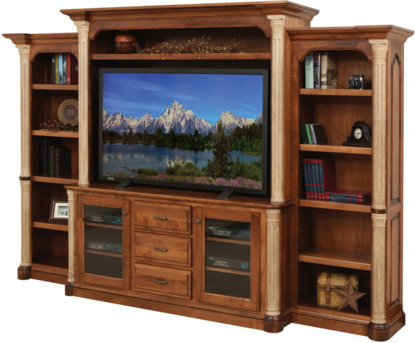 Amish Jefferson 68 Inch Entertainment Center