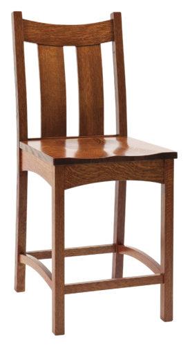 Amish Country Shaker Stationary Barstool