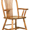 Amish Country Sheaf Arm Dining Chair