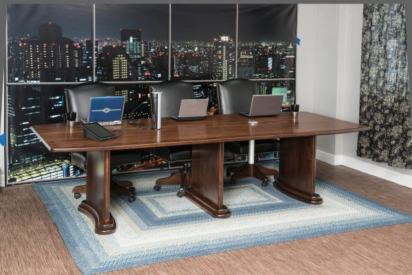 Amish Executive Table Collection
