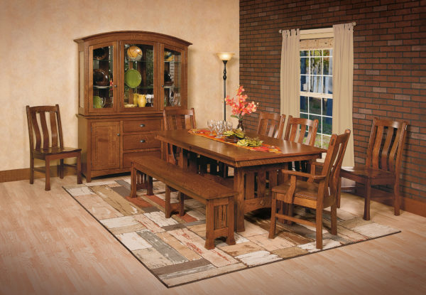 Amish Olde Century Mission Dining Room Set