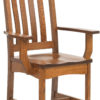Amish West Lake Dining Arm Chair