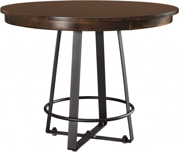 Amish Iron Craft Pub Room Table