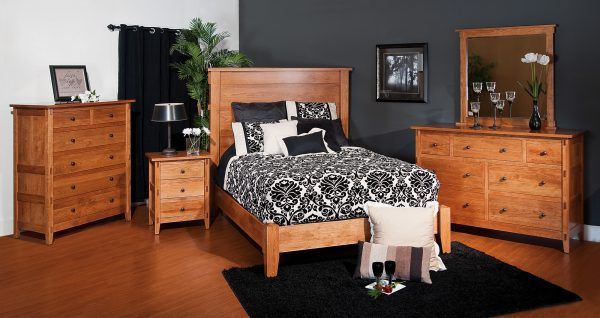 Amish Bungalow Bedroom Collection