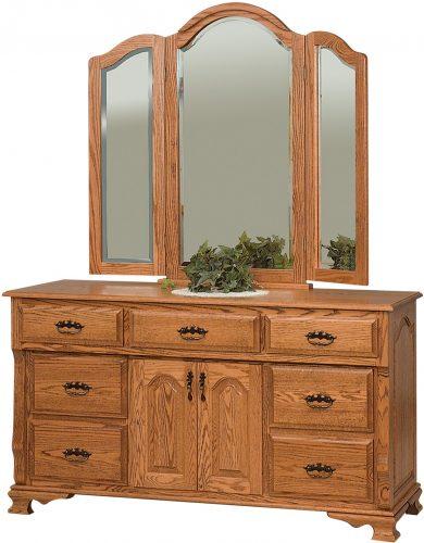 Amish Classic Heritage 2 Door Dresser