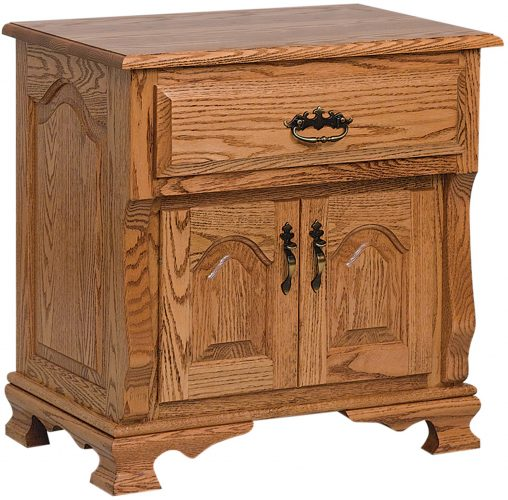 Amish Classic Heritage 2 Door Nightstand