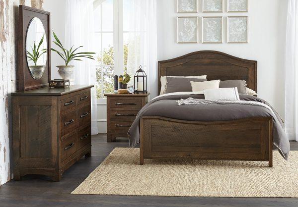 Amish Farmhouse Loft Bedroom Collection