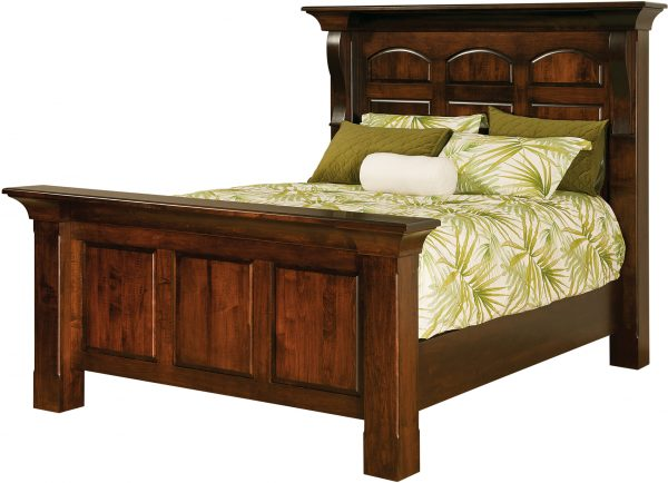 Amish Hamilton Court Paneled Bed