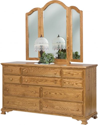 Amish Heritage 10 Drawer Dresser