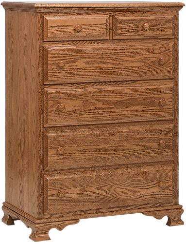 Amish Heritage Small 6 Drawer Chest