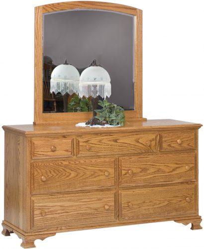Amish Heritage 7 Drawer Dresser