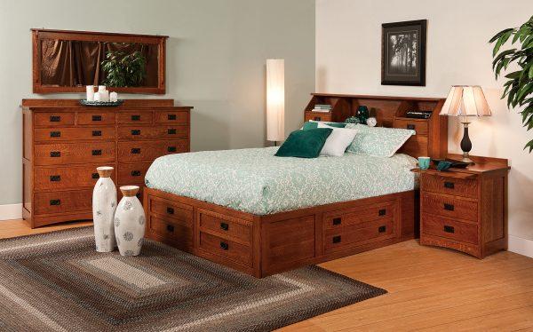 Amish Jacobson Bedroom Set