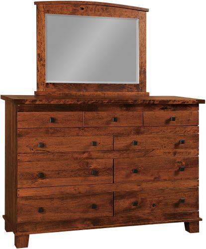 Amish Larado 9 Drawer Dresser