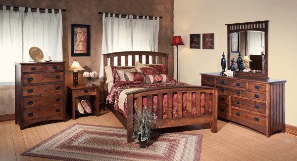 Amish Schwartz Mission Bedroom Collection
