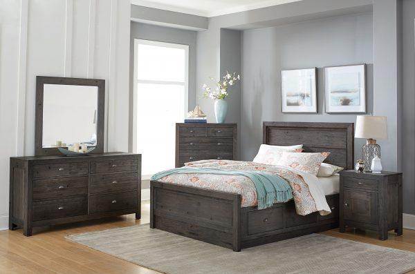 Custom Sonoma Bedroom Set