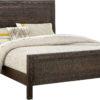 Amish Sonoma Wirebrushed Oak Bed