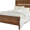 Amish Tucson Bed with Wood Panels