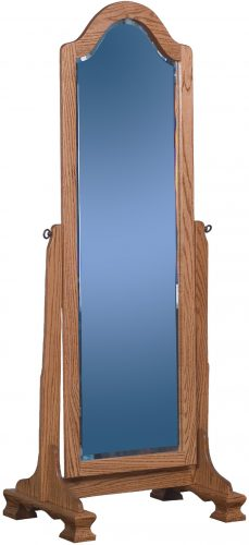 Amish Cathedral Arch Cheval Mirror